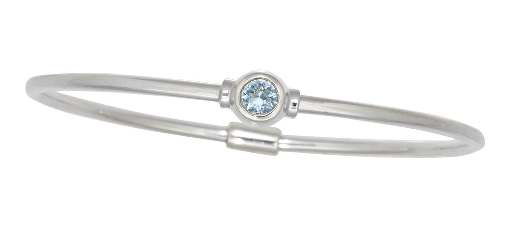 Cape Cod Birthstone Bracelet (March)