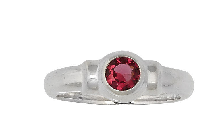 Sterling Silver Cape Cod Birthstone Ring (July)