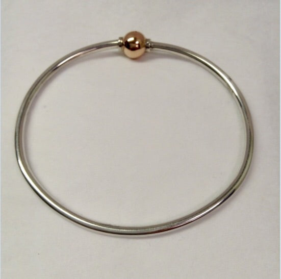 The Bracelet - 14K Rose Gold Ball