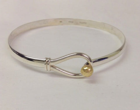 Cape Cod Bracelet Single Ball Loop - 14K Yellow Gold Ball