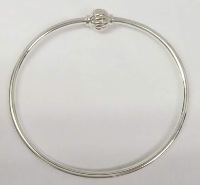 Sterling Silver Fancy Ball - Cape Cod Bracelet
