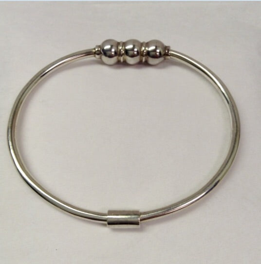The Bracelet Triple Ball - Sterling Silver