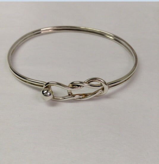The Sailors Knot- Sterling Silver