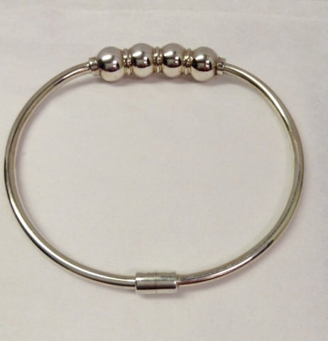 The Bracelet Quadruple Ball - Sterling Silver