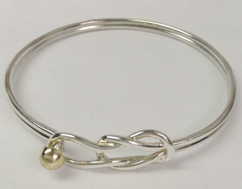 The Bracelet Sailors Knot - 14K Yellow Gold Ball