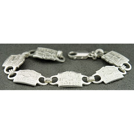 Sterling Silver Entering Cape Cod Bracelet