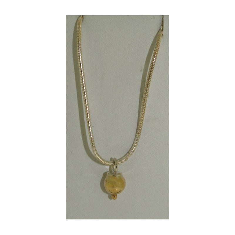 Cape Cod Necklace - 14K Gold Drop Bead
