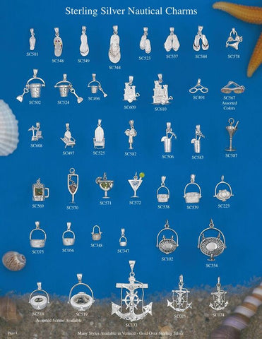 Sterling Silver Nautical Charms