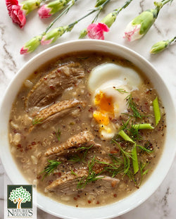 Herbed Duck Congee Recipe
