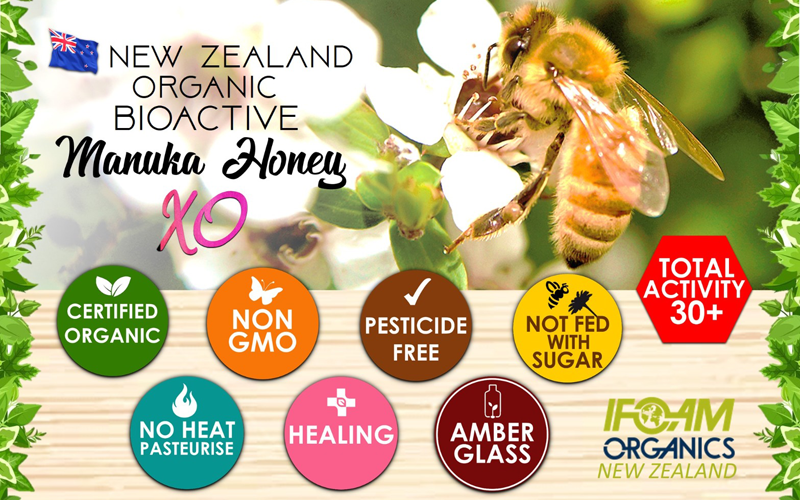 Manuka Honey Ratings - The Differences between UMF, MGO and Total Activity - Banner