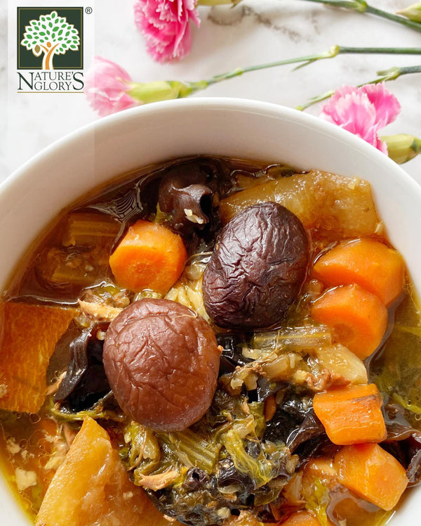Shiitake and Vegetable Stew Recipe