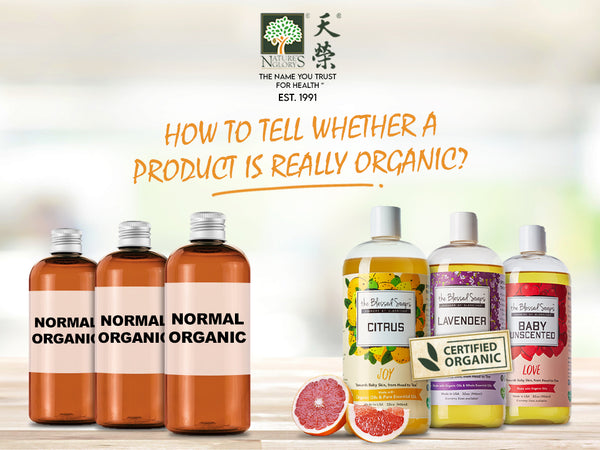 How to tell whether a product is really Organic?