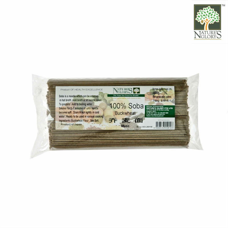 100% Soba (Buckwheat) Nature's Glory 750g