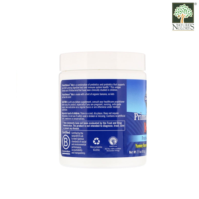 Garden of Life Primal Defense Kids Powder Probiotic Formula 81g - Product Description View 2