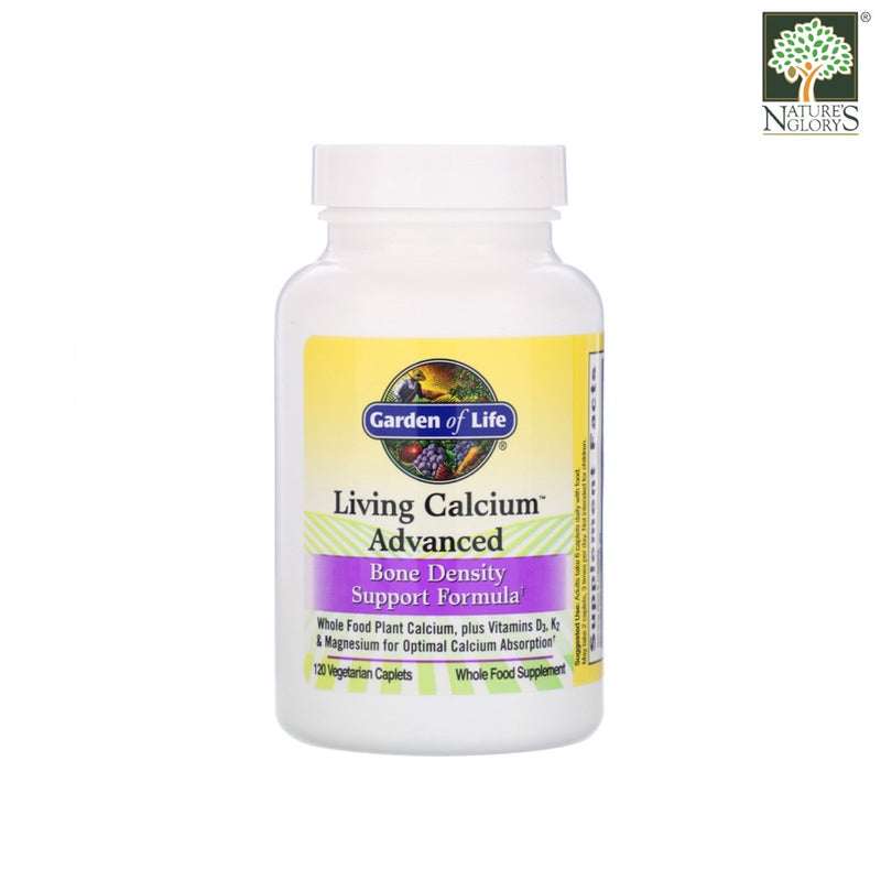 Garden of Life Living Calcium Advanced 120 Vegan Caps