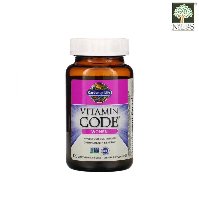 Garden of Life Vitamin Code Women 120 Vegan Caps