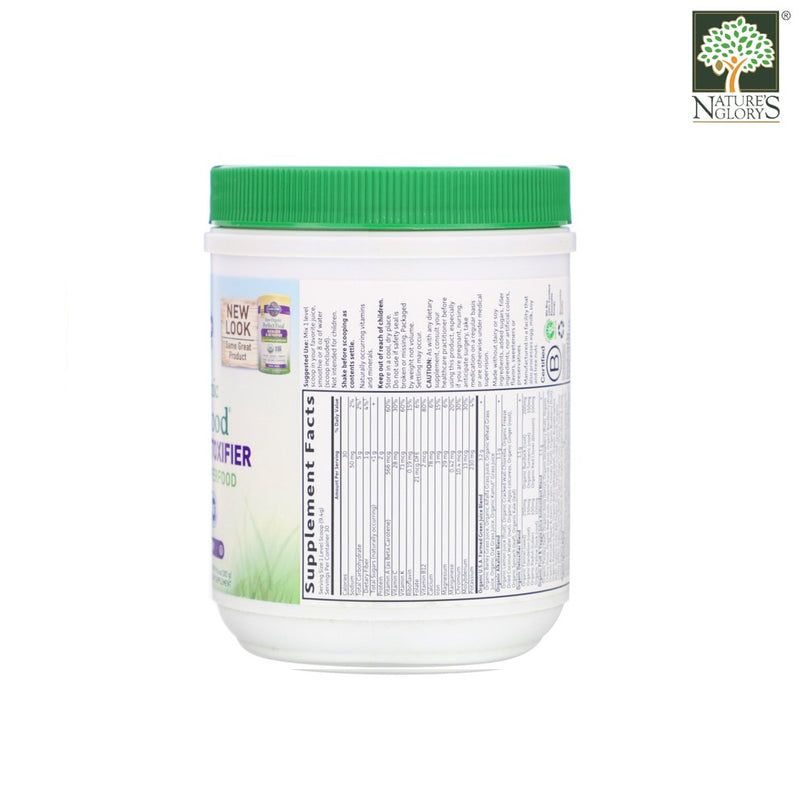 Garden of Life Organic Perfect Food Alkalizer and Detoxifier Lemon Ginger 282g - Product Discription View 1
