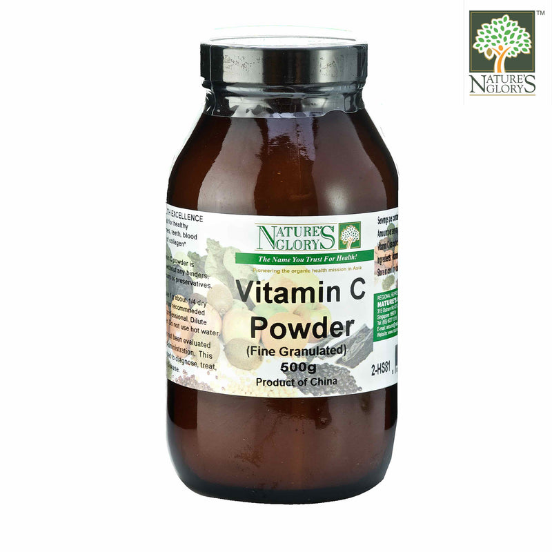 Vitamin C Fine Powder 500g Nature's Glory