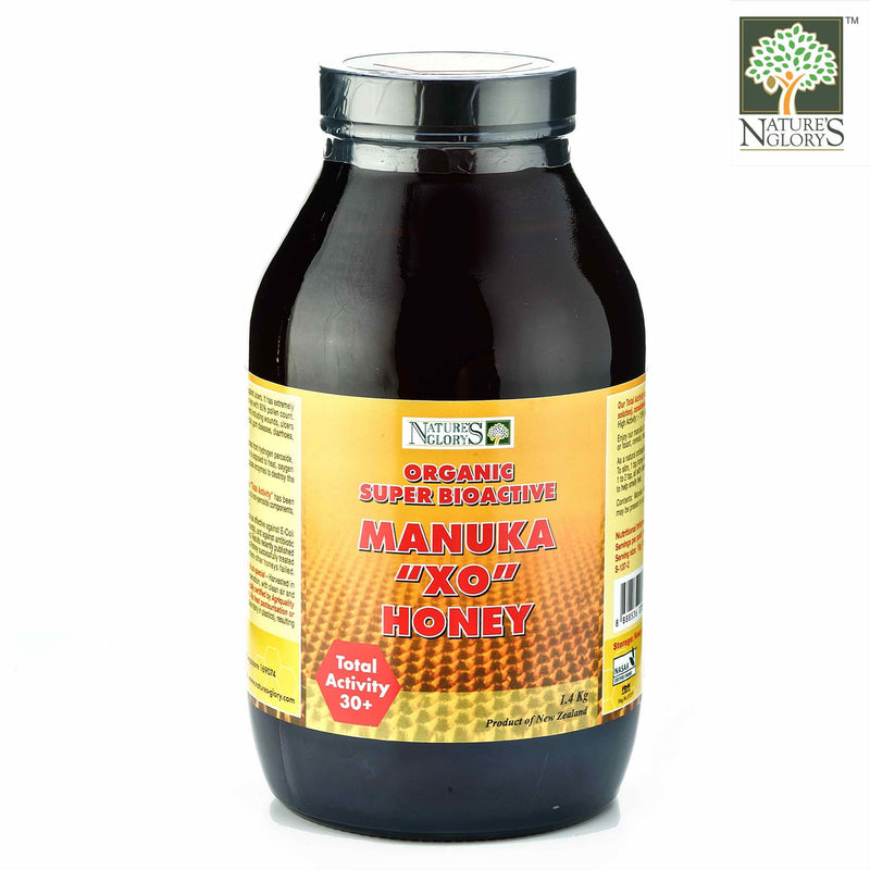 Manuka XO Honey 30+ Nature's Glory 1.4kg Organic (NA 8131P)
