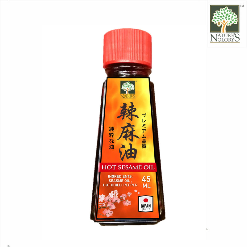 Nature's Glory Hot Sesame Oil 45ml