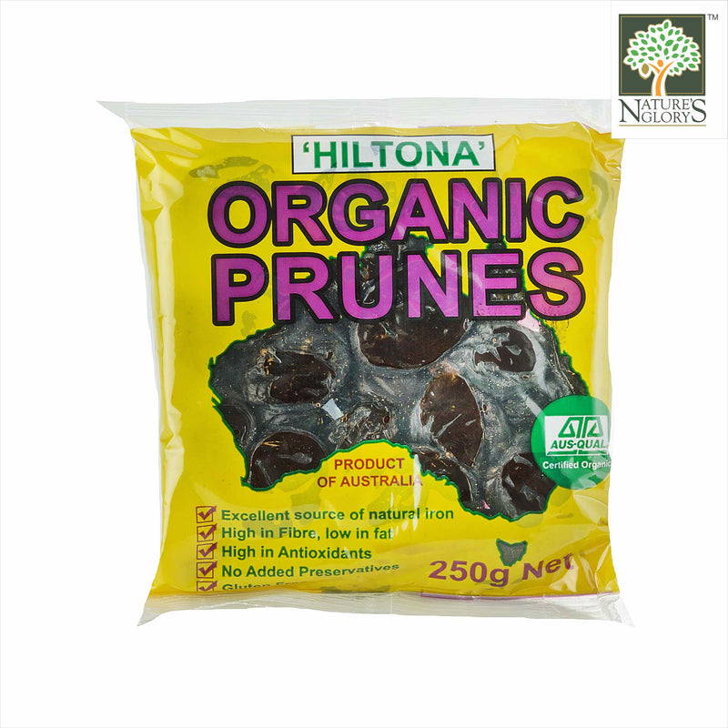 Dried Prune Aust Nature's Glory 250g Organic