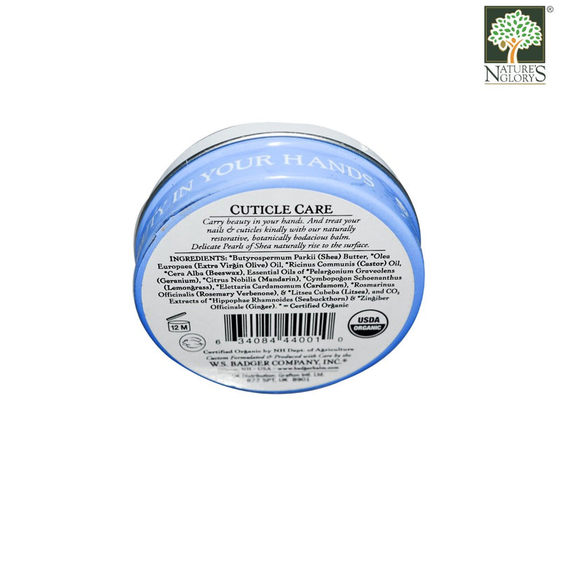 Cuticle Care Balm Badger Organic Natural 21g/56g