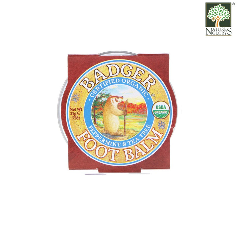 Foot Balm Badger Organic 21g