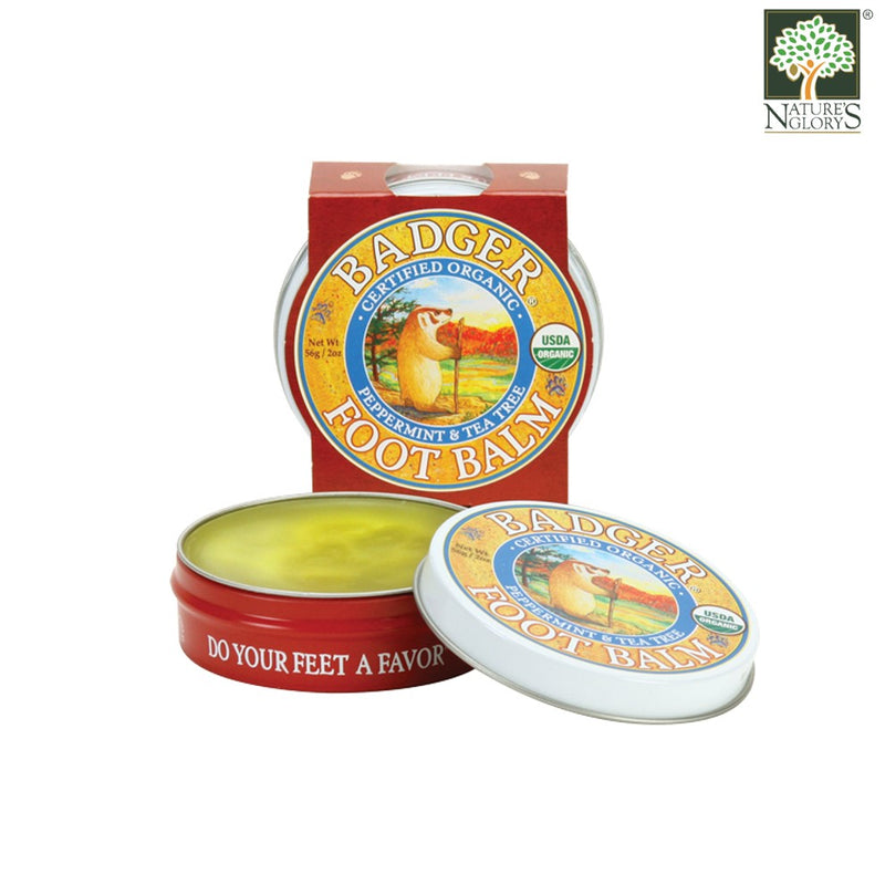 Foot Balm Badger Organic 56g
