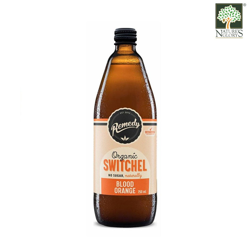 Remedy Organic Switchel Blood Orange 750ml