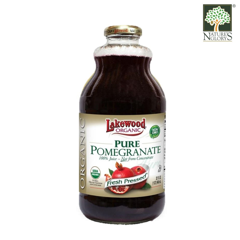 Organic Pure Pomegranate Juice Lakewood 946 ml
