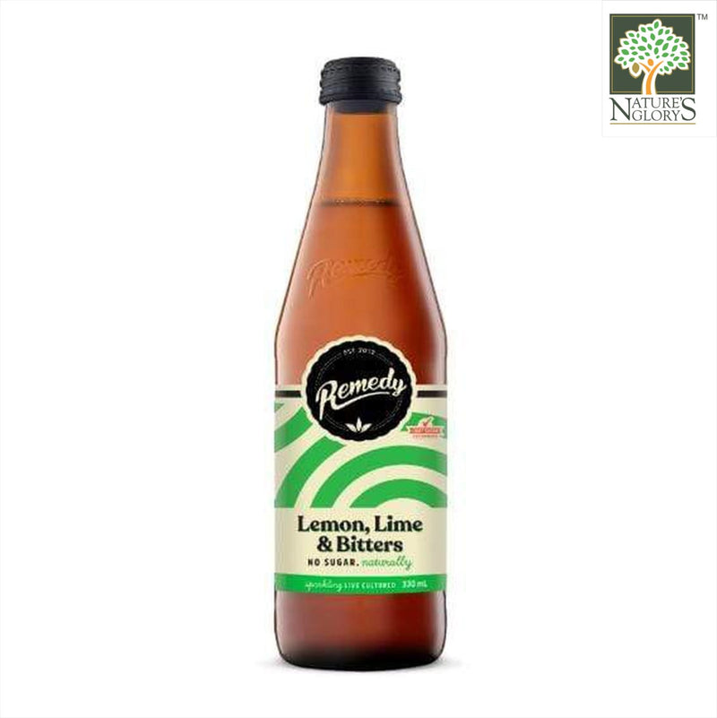 Organic Kombucha Lemon, Lime & Bitters 330ml (Best before: Approx. 6 months)