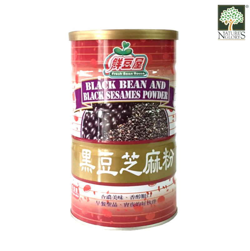 Black Bean and Black Sesame Powder 600g Fresh Bean House