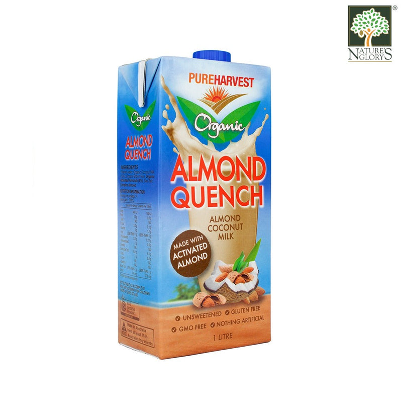 Organic Almond Quench Coconut Milk PureHarvest 1litre - View 1