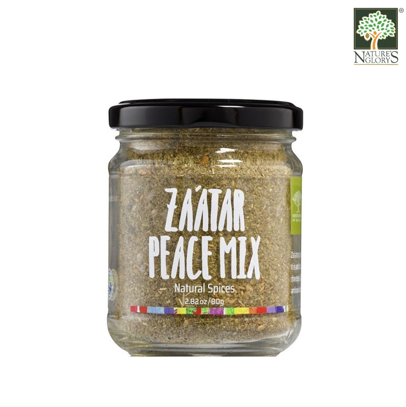 Za'atar Peace Mix Natural Spices Sindyanna of Galilee 80g