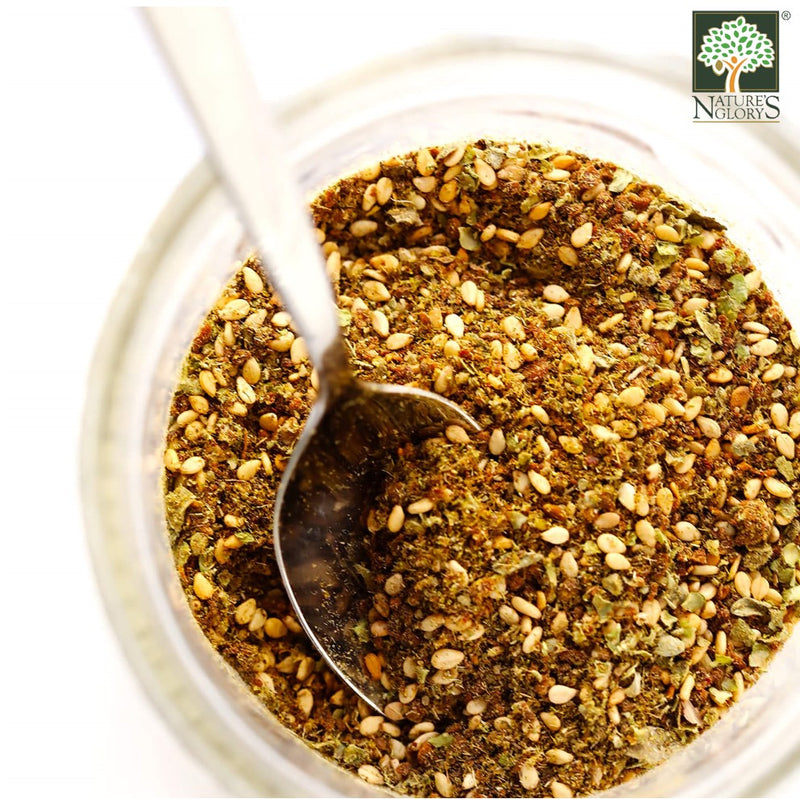 Za'atar Peace Mix Natural Spices Sindyanna of Galilee In A Bowl