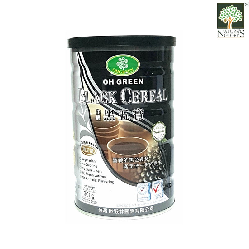 Black Vegan Cereal 600g Oh Green