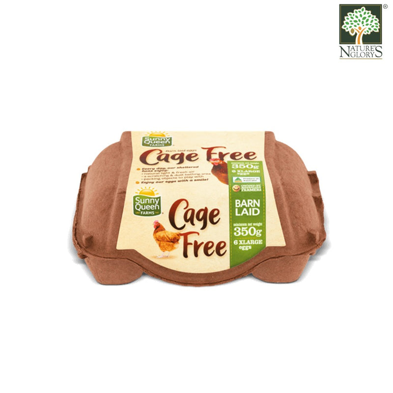 Cage Free Barn Laid Chicken Eggs (12 Extra Large Eggs)