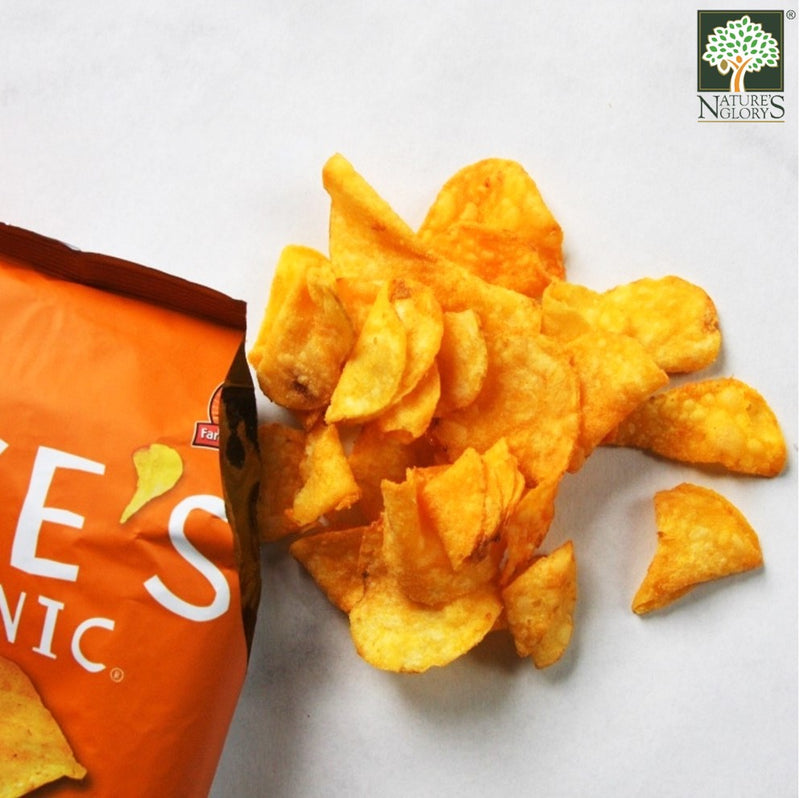 Cheddar & Sour Cream Potato Chips Luke's Organic