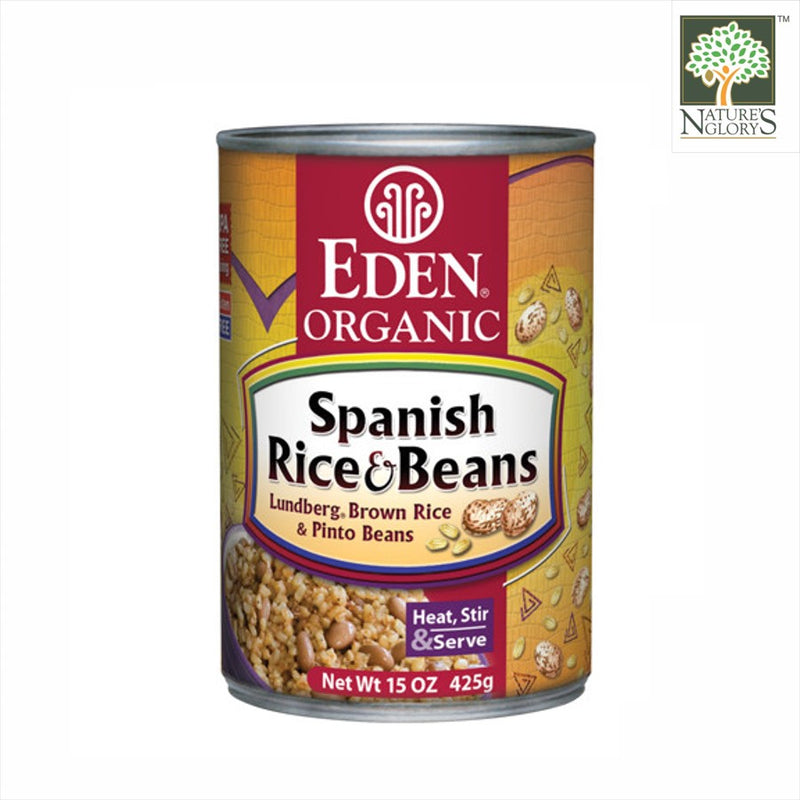 Spanish Brown Rice & Pinto Beans, Eden Organic  425g