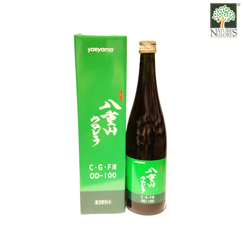 CGF Liquid Yaeyama Chlorella Extract Japan 720ml