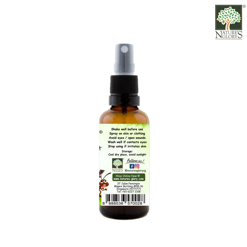 Nature's Glory mFREE Insect Repellent 50ml - Product Description View 2