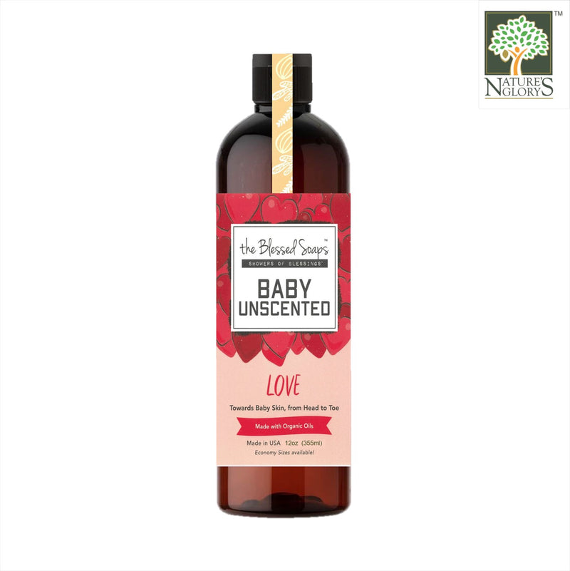 The Blessed Soaps Baby Love - Unscented (Best before: Approx. 2 years)