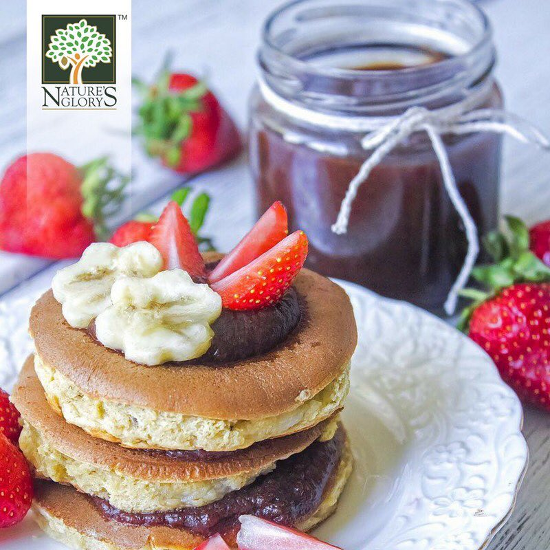 Adzuki Bean paste pancakes