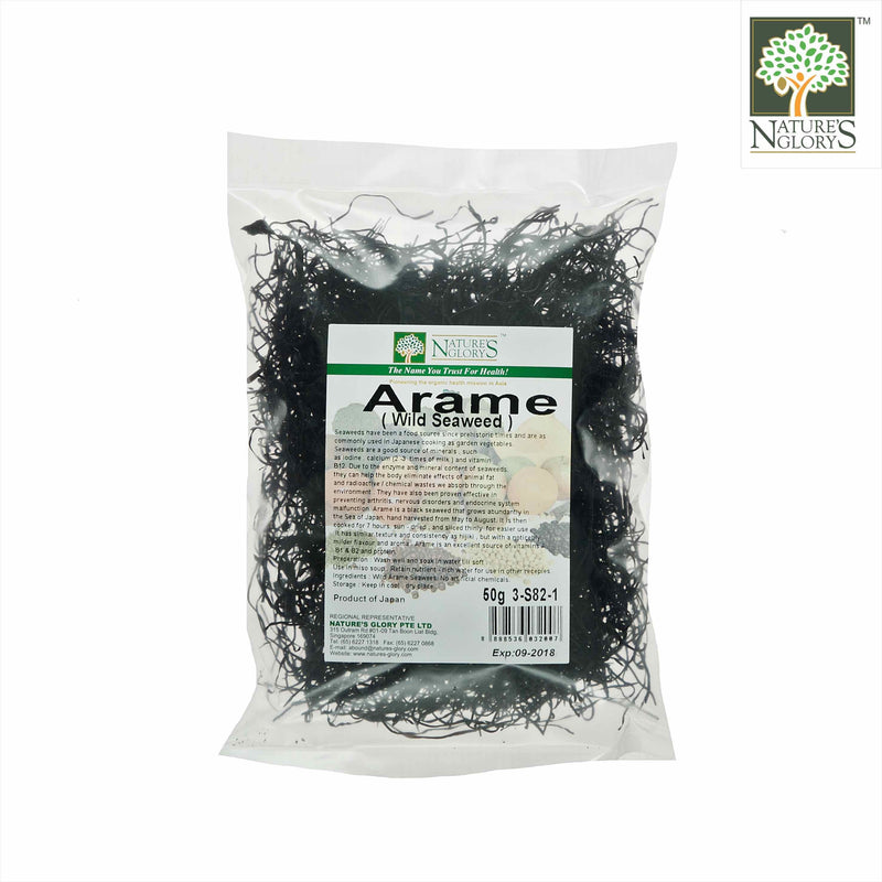 Arame Nature's Glory 50g (Seaweed)