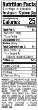 Strawberry Banana Happy Baby Yogis Organic Snack 28g - Nutrition Facts