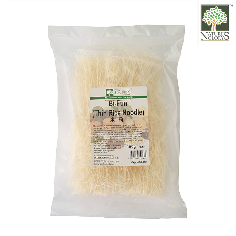 BiFun-Thin Rice Noodle Nature's Glory 150g/1kg WF.