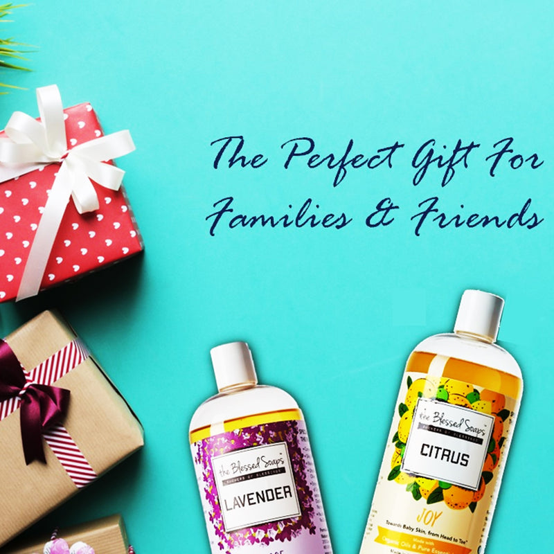 The Blessed Soaps, the Perfect Gift for families & friends