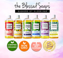 The Blessed Soaps, Showers of Blessings, Multi Award Winning. Certified Organic