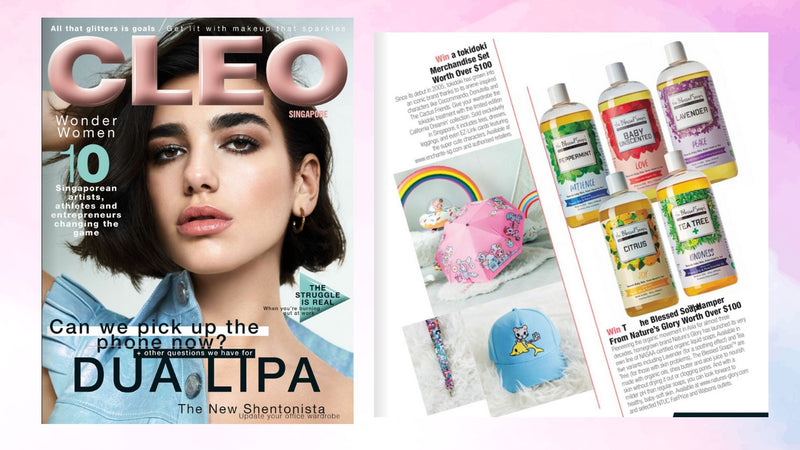 The Blessed Soaps in Cleo Magazine