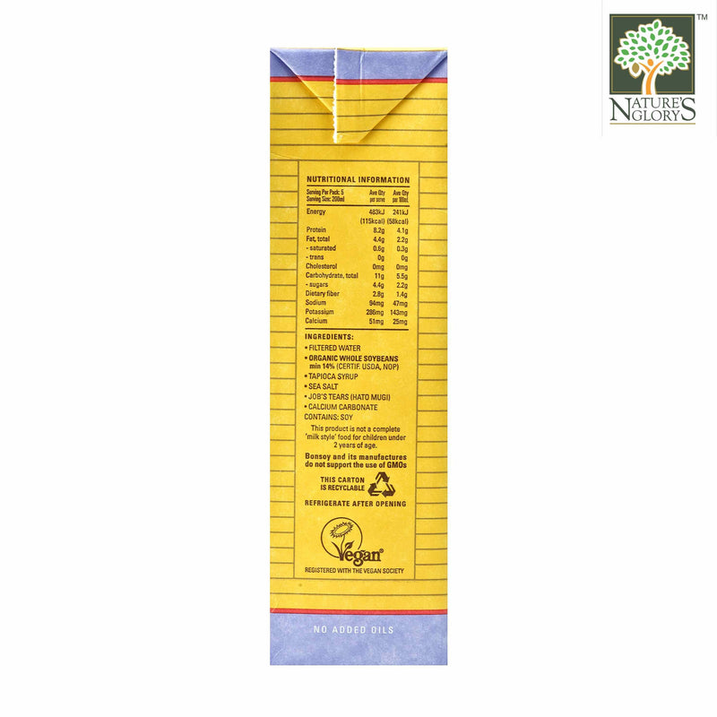 Bonsoy with Barley - 1 Litre. Product Description View 1